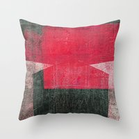 gemini Throw Pillows featuring Gemini by Fernando Vieira