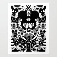 Nevaeh Art Print