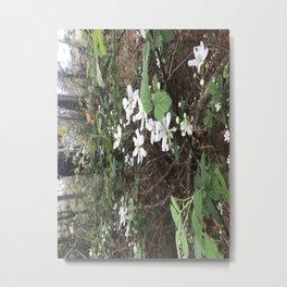 Flowers of the Woods Metal Print