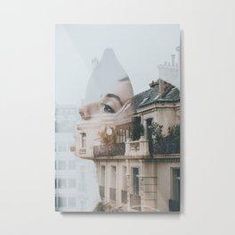 Paris Dreaming Metal Print
