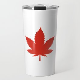 O Canada! (Hemp Flag) Travel Mug
