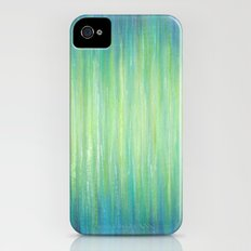 Ombre Aqua Bliss painting iPhone (4, 4s) Slim Case