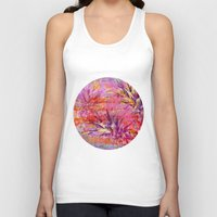 fruits Tank Tops featuring Tropical Fruits by LebensART