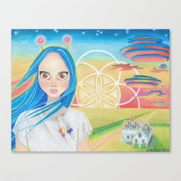 Dawn of the New Age Canvas Print