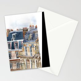 Roofs of Paris Stationery Cards