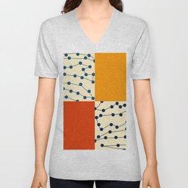 Something Abstract Unisex V-Neck
