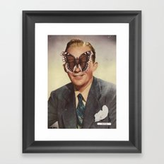 BING CROSBY.  (PIN-UPS). Framed Art Print