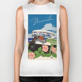 Romantic Bermuda travel Biker Tank