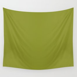 Dark Pastel Green Pepper Stem Fashion Color Trends Spring Summer 2019 Wall Tapestry