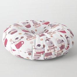 Cookie & cream & penguin Floor Pillow