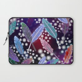 Feathers and Fairy Lights (The Witching Hour) Laptop Sleeve