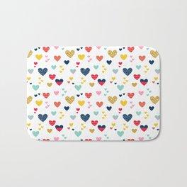 cheerful hearts Bath Mat