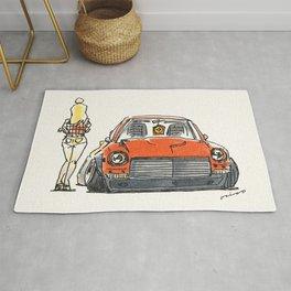 Crazy Car Art 0131 Rug