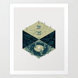 Cube 06 Art Print