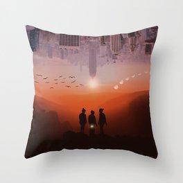 Three missing women by GEN Z Throw Pillow