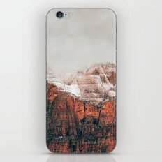 The Red Mountains iPhone & iPod Skin