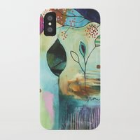 """flora bowley iPhone & iPod Cases featuring """"Abundance"""" Original Painting by Flora Bowley  by Flora Bowley"""