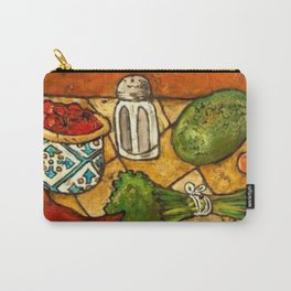Picante Kitchen Art Carry-All Pouch