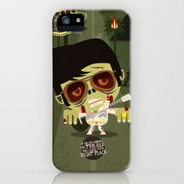 Elvis Zombie iPhone Case