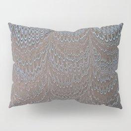 Raining Snow Water Marbling Pillow Sham