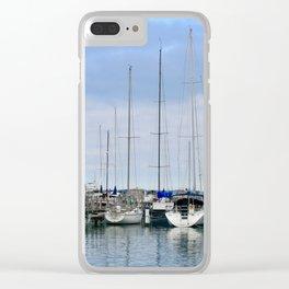 Milwaukee Sailboats Clear iPhone Case