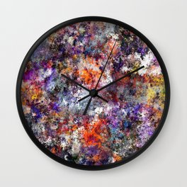 The warm cinders Wall Clock