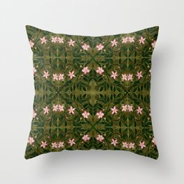 Briar Rose Throw Pillow