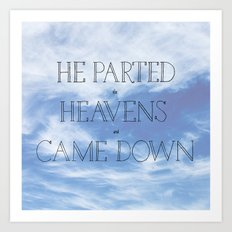 Psalm 18 Art Print