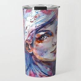 Sophia by carographic Travel Mug
