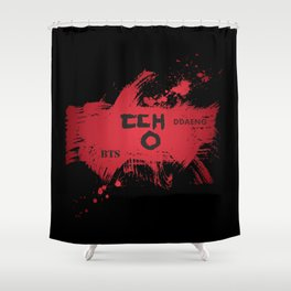 DDAENG (땡) Shower Curtain