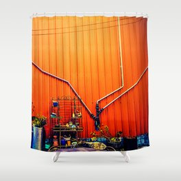 San Fran Sunrise Shower Curtain
