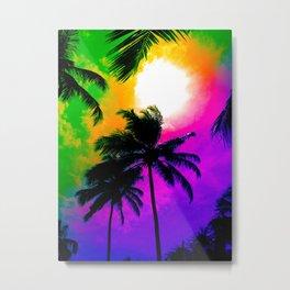 tropicsky Metal Print