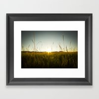 Colorado Sunset Framed Art Print