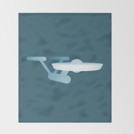 Star Trek USS Enterprise Throw Blanket