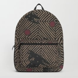 African Tribal Pattern No. 93 Backpack