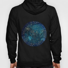 Star Map :: City Lights Hoody
