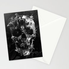Kingdom Skull B&W Stationery Cards