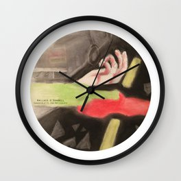 Immortal by Wallace O'Donnell  Wall Clock