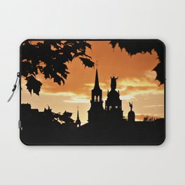 Sunset in Old Montreal Laptop Sleeve
