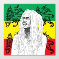 marley Canvas Prints featuring MARLEY  by Kayser152