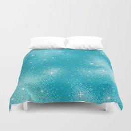 Winter Nebula Duvet Cover