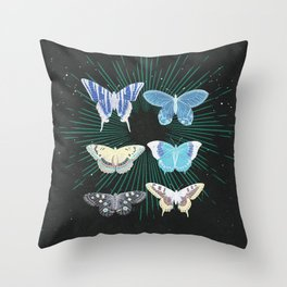 SHADOW ANATOMY Throw Pillow