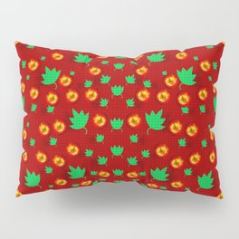 May be Christmas apples ornate Pillow Sham