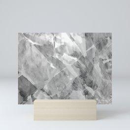 Salted Spring (Grayscale) Mini Art Print