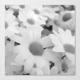 Black and White Duvet Cover 2015 Limited Addition Canvas Print