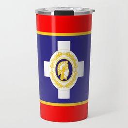 Flag of Athens Travel Mug