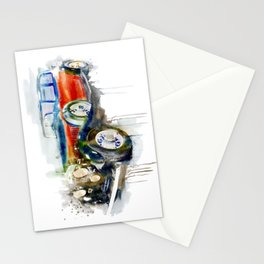 Vintage Automobile Stationery Cards