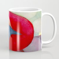 archan nair Mugs featuring Joy by Angella Meanix