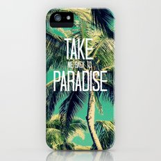 TAKE ME BACK TO PARADISE II  iPhone (5, 5s) Slim Case