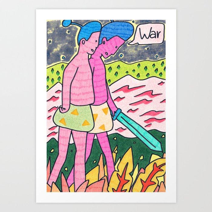 War Art Print